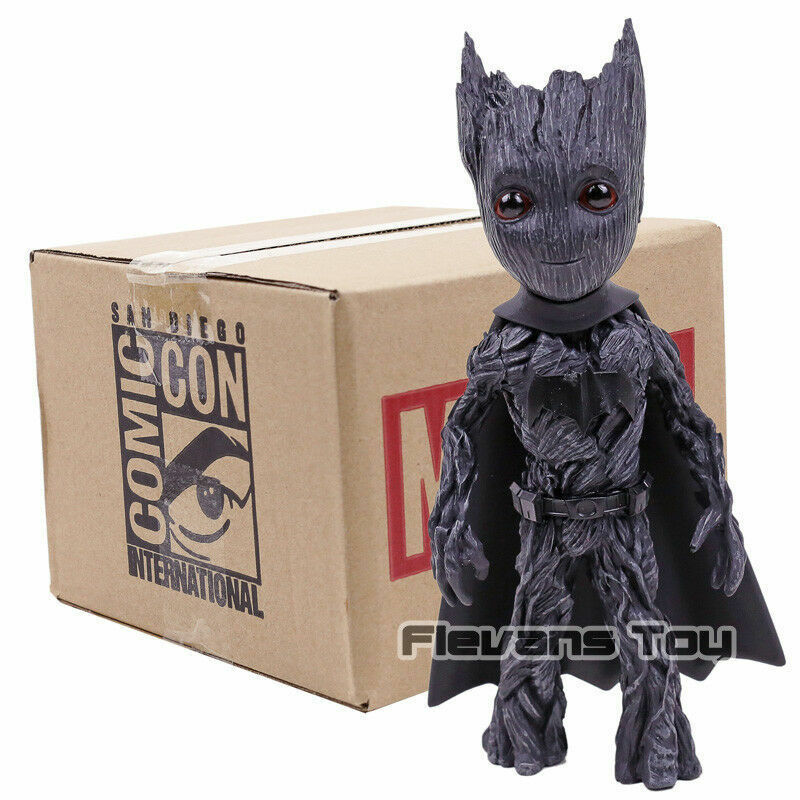 MARVEL   GUARDIANS OF THE GALAXY & DC   GROOT COSPLAY BATMAN 18cm