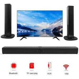 Wireless Bluetooth Sound Bar TV 3D Speaker Bass Home Theater Stereo Subwoofer