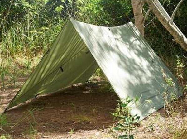 Snugpak Allwetter Biwak Waterproof Tarnplane Basha Shelter Outdoor Tarp