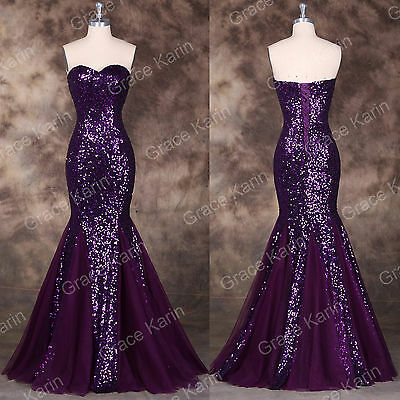 Sexy Mermaid Formal Prom Masquerade Bridesmaid COCKTAIL Evening Ball Gown Dress