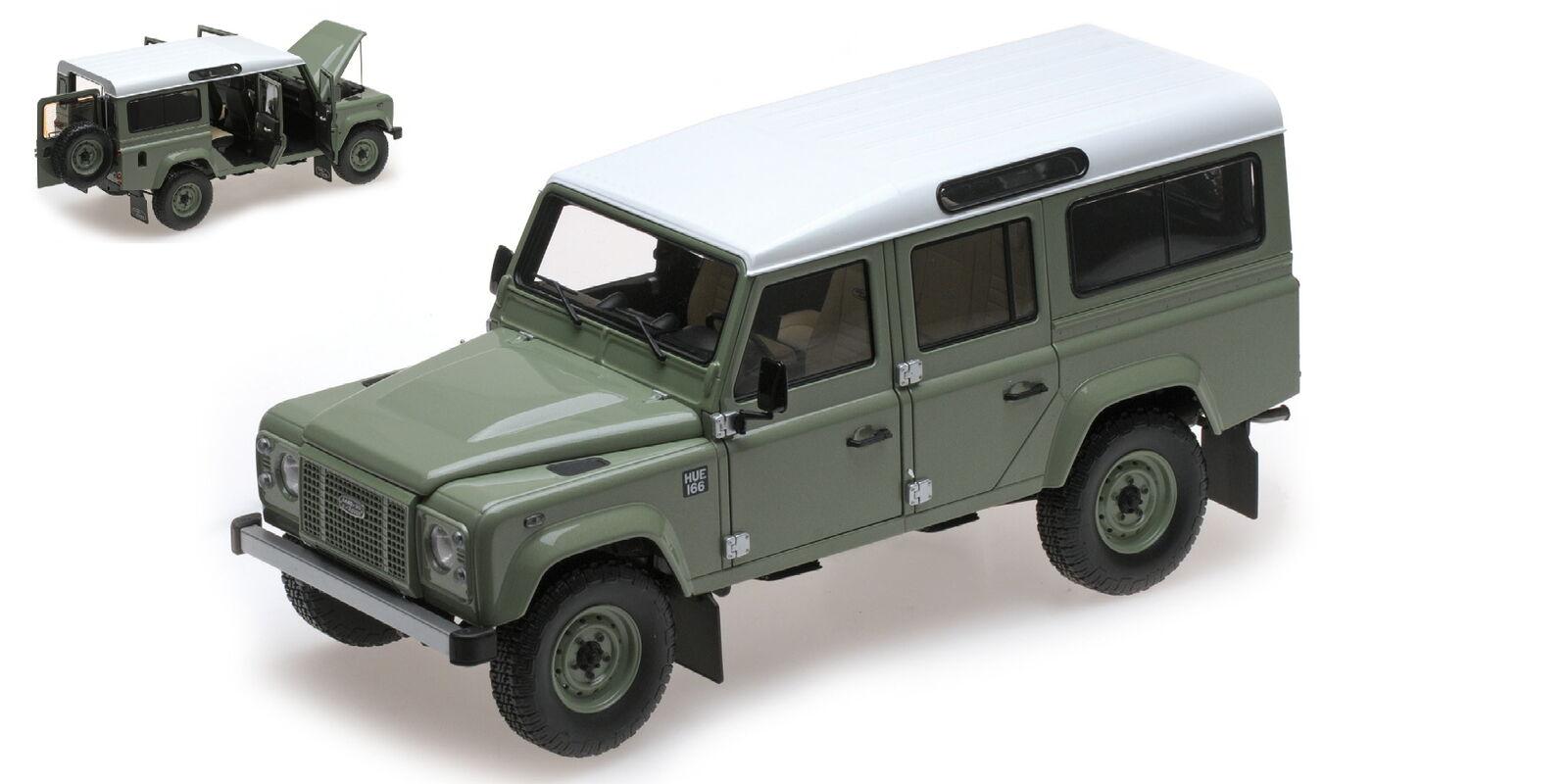 las mejores marcas venden barato Land Rover Defender 110 Heritage Edition 2015 2015 2015 verde ALMOST REAL 1 18 ALM810307  respuestas rápidas