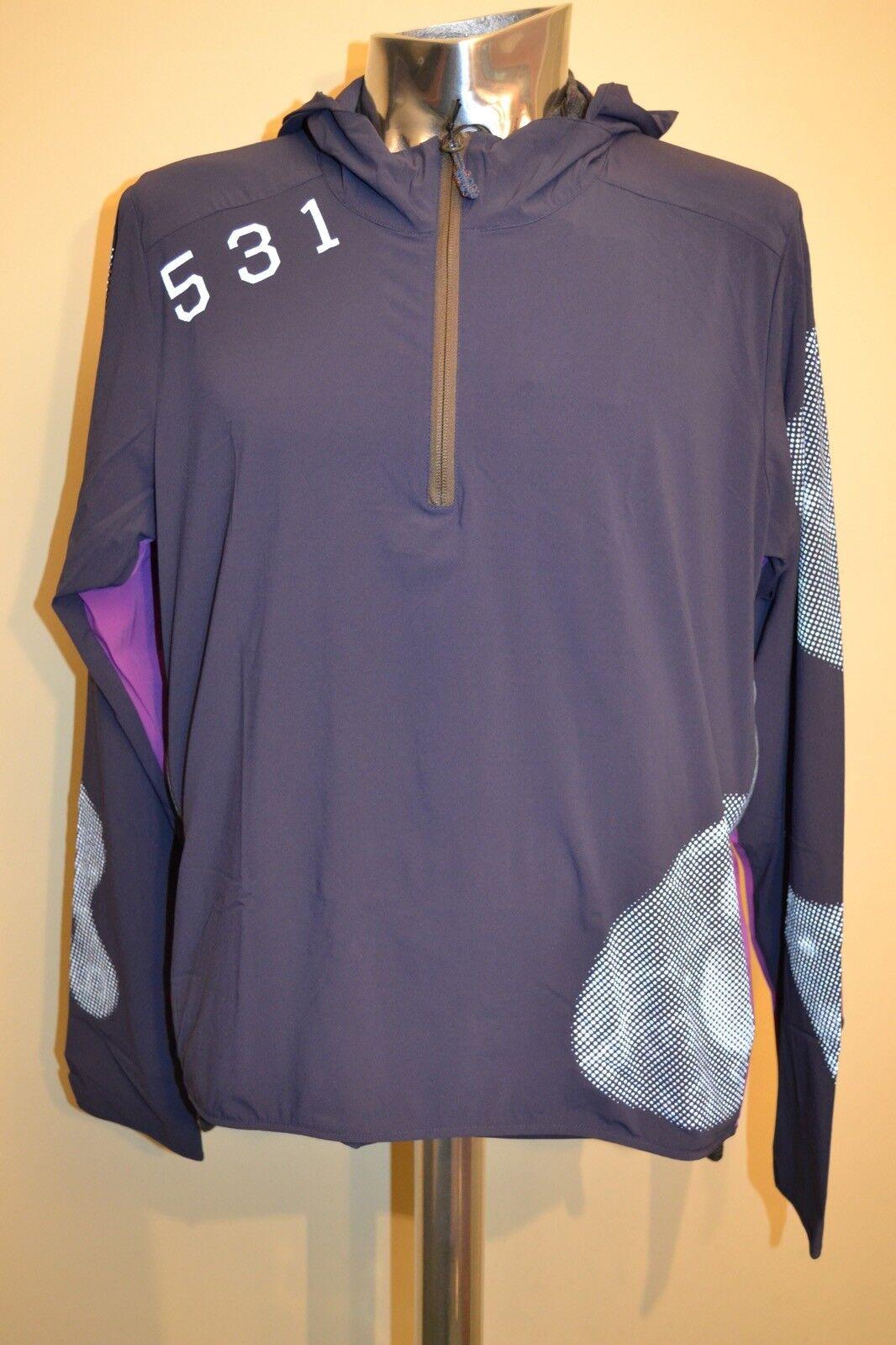 Paul Smith 531 Blau Regenfest Radsport Kapuzenpullover GRÖSSE S S S NEU b91c87