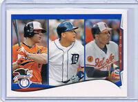 2014 Topps ERROR - NO NAME - Miguel Cabrera - Adam Jones - Chris Davis Orioles