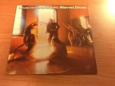 LP WARREN ZEVON BAD LUCK STREAK IN DANCING SCHOOL CAT. 5E 509 VG+/EX+ US PS 1980