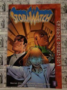 StormWatch-Lightning-Strikes-2000-DC-Wildstorm-TPB-Ellis-Hitch-FN-VF