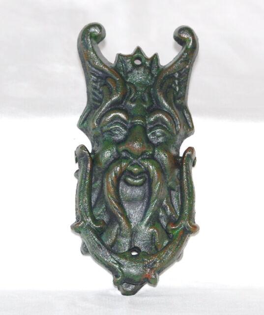 GREEN MAN DOOR KNOCKER 7