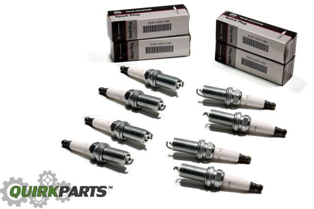 2004-2006 Nissan Armada VK56DE Engine Set of 8 Spark Plugs B2401EW61JNW VA