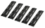Heat Plates Porcelain Steel For Brinkmann Kenmore Bbq Gas Grill Cover Parts 5Pc