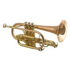 New DCT-650 Cornet Wisemann NEW Great Sound  Rose Brass Bell Shepherd Crook Bell