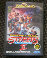 NEW Streets of Rage 2 Bare Knuckle II Asian Boxed CIB Rare