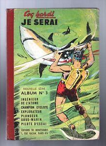 COQ-HARDI-JE-SERAI-Album-n-3-n-12-a-16-Coureur-cycliste-1956-ref-RF4