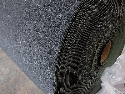 100 x 400 cm 6/€//m/² mit Noppen anthrazit//schwarz 400 cm breite Fertigrasen Balkon Internethandel Pfordt Kunstrasen
