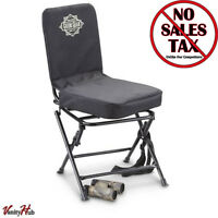 Portable Swivel Hunting Chair Folding Deer Stool Turkey Padded,