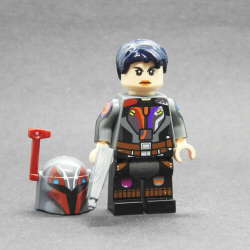Custom Star Wars minifigures Epilogue Sabine on lego brand bricks