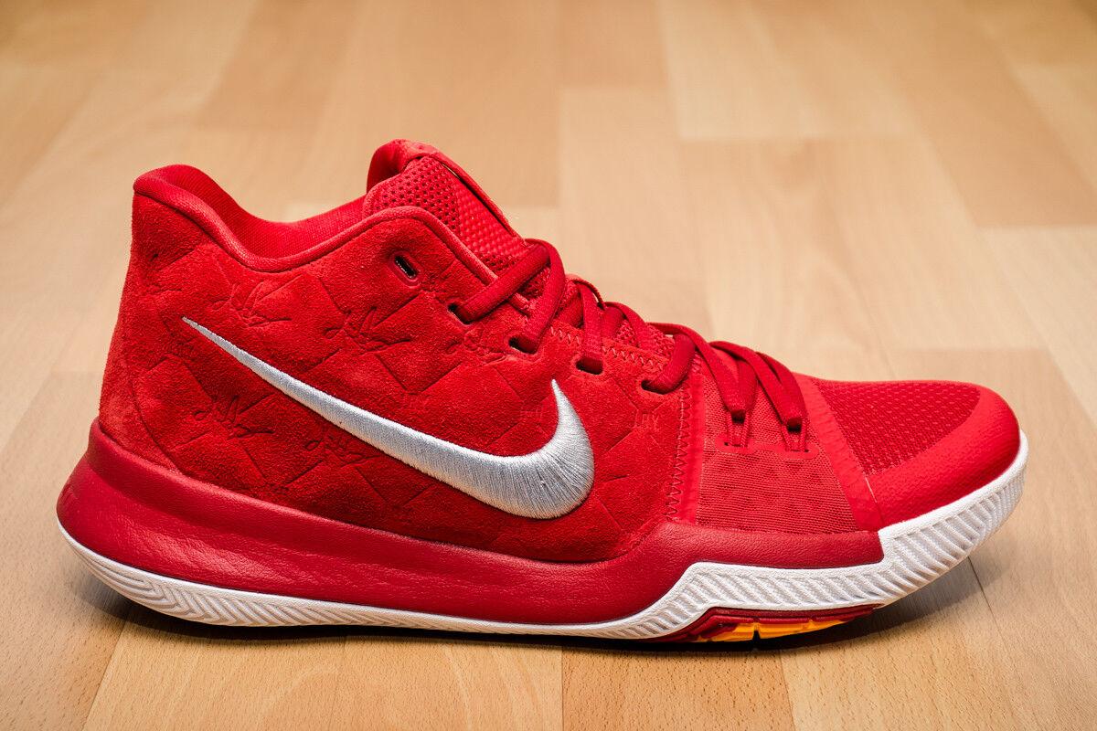 Mens Nike Kyrie 3 III Sneakers New, University Red