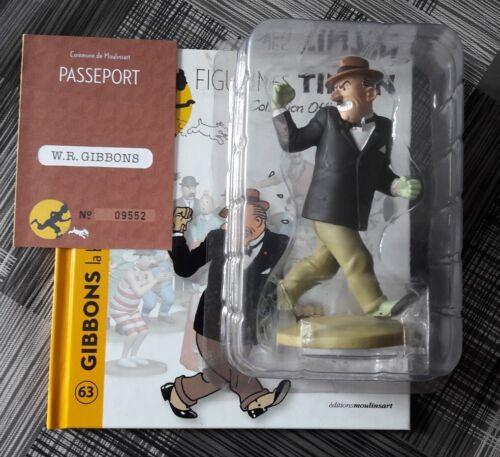 figurine tintin gibbons la brute N° 63