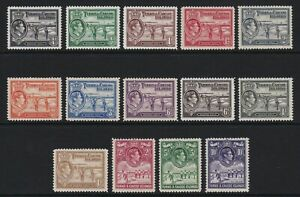 Turks-amp-Caicos-1938-set-of-14-lightly-mounted-mint-130