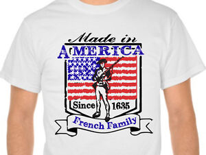 Personalized-Made-in-America-Since-Family-T-Shirt