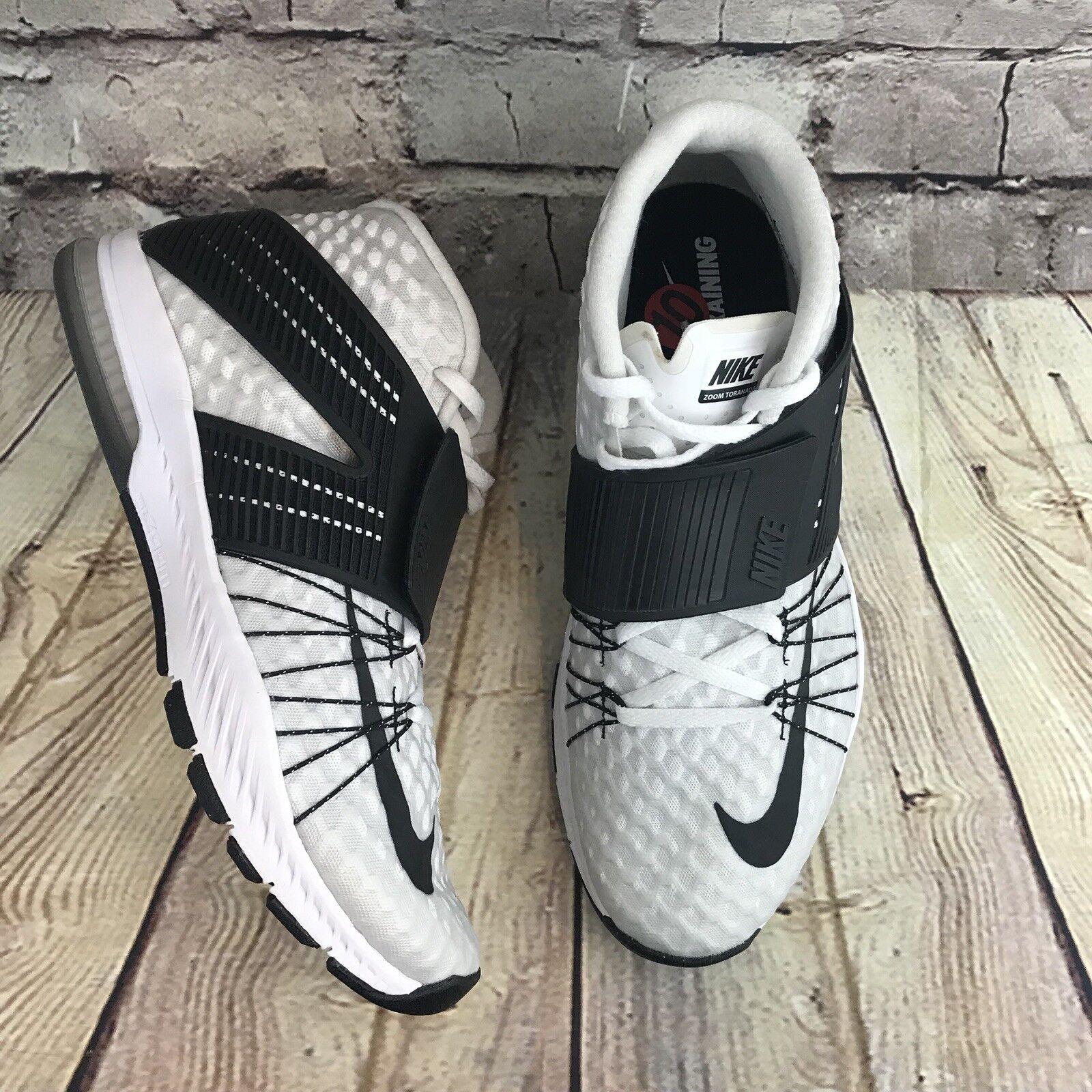 NEW Nike Zoom Train Toranada Men Athletic Sneaker 835657-100 835657-100 835657-100 White/Black Size10 ecfd90