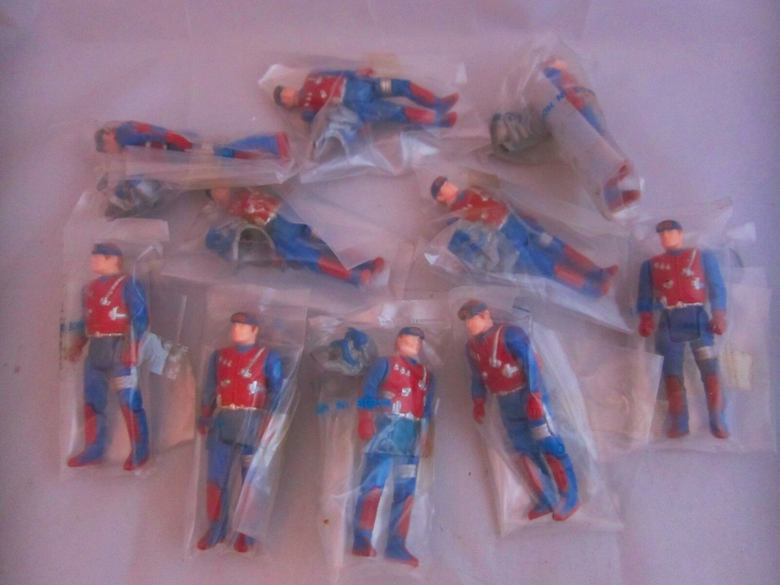 10x M.A.S.K Dusty Hayes Figures COMPLETE FACTORY BAGGIE Vintage Toys MASK Gator