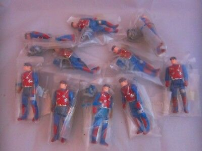 10x Dusty Hayes Figures COMPLETE FACTORY BAGGIE Vintage Kenner Toys For Gator