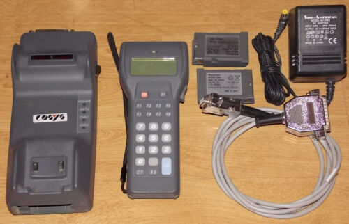 Kabel ZE-79UMHYE Panasonic Handscanner Scanner ZE-79 ZE-79BM6CY 2 Akku
