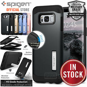Galaxy-S8-Plus-S8-S7-S7-Edge-Case-Genuine-SPIGEN-Slim-Armor-Cover-for-Samsung