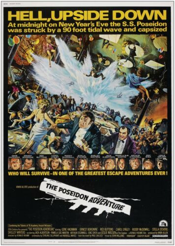 The Poseidon Adventure Vintage Large Movie Poster Art Print A0 A1 A2 A3 A4 Maxi
