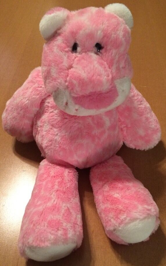 Mary Meyer Pink and White Soft Tiger Plush