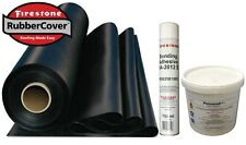 Rubber Roofing Kit For Flat Roofs Firestone EPDM membrane & Adhesives Only