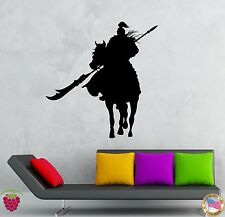 Wall Stickers Vinyl Decal Chinese Warrior Soldier With Weapon Decor  (z2005)