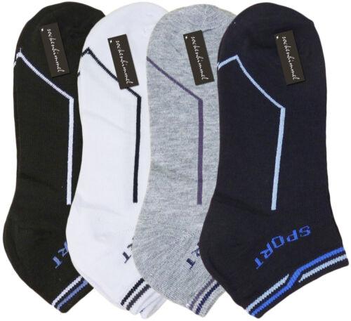 Herren Sneaker Socken Baumwolle 40, 41, 42, 43  12 Paar Sport Sneakers Kurzsocke