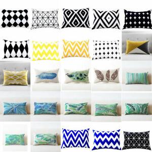 Rectangle-Pillows-Case-Throw-Pillow-Cushions-Cover-Home-Decor-Geometric-Cushion