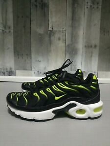 Nike Air Max Plus GS Size 5Y / Womens 6.5 655020-086 Black ...
