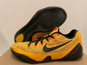 8ab0ad16b96f Image is loading Nike-Kobe-9-Low-Bruce-Lee-Size-9-