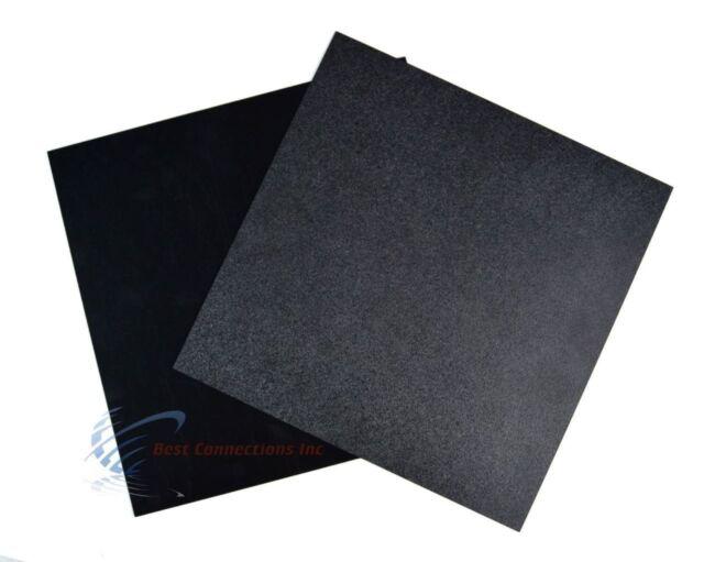 "UHMW Polyethylene Plastic Sheet 1//4/"" x 24/"" x 48/"" Black Color"