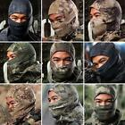 New Unisex Outdoor Tight Camo Balaclava Airsoft Tactical Hunting Full Face Mask