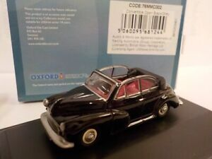 Model Car, Morris Minor, Black, 1/76 New