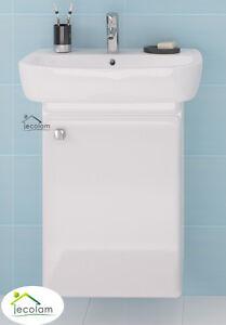 badm bel waschbecken 60 cm waschtisch waschbeckenunterschrank wei h ngend i f. Black Bedroom Furniture Sets. Home Design Ideas