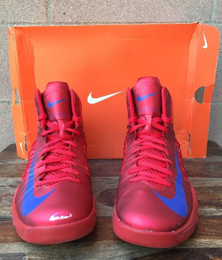 Nike Hyper Fuse Men's Size 13 University Red/Game Royal 525022 601