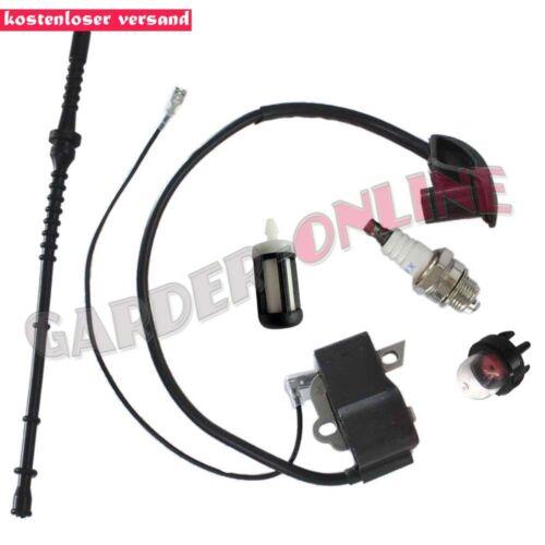Zündung Zündspule Benzinschlauch für Stihl FS120 FS200 FS250 FS300 FS350 BT120C