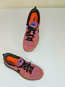 Details about Nike Flyknit Air max 2015 Crimson Blue Multicolor Running 620469 404 Sz 10