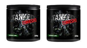 Tanked-Smash-Pre-Workout-50-Servs-Nitric-Oxide-Muscle-Pump-x-2-Tubs-Blue-Razz
