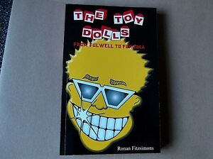 TOY-DOLLS-from-fulwell-to-fukuoka-RARE-PUNK-BOOK-collectable-oi-REDUCED