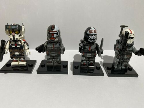 Clone Force 99 Star Wars The Clone Wars Custom Minifigures The Bad Batch
