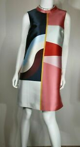 TED-BAKER-LONDON-Colorblock-Tunic-Dress-Size-Ted-3-US-8-10-Pre-owned