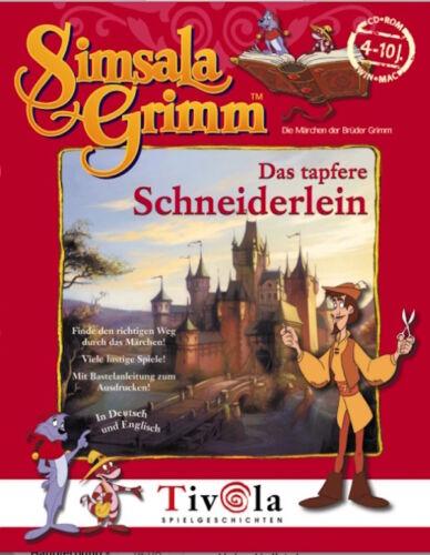 1 von 1 - Simsala Grimm & Das Tapfere Schneiderlein & PC-Spiel-Geschichte 1999 NEU & OVP