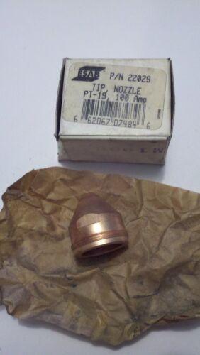 100 amp 22029 ESAB Nozzle Tip  PT-19