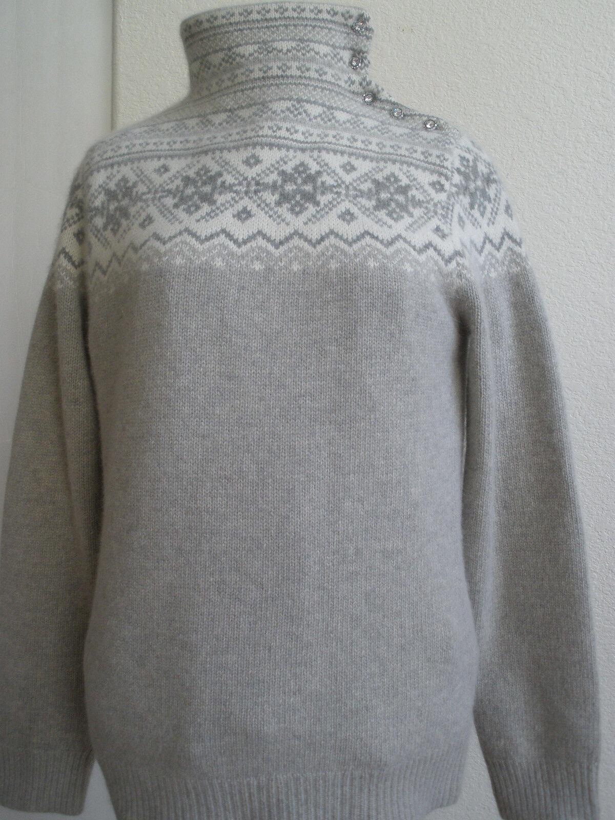 LAUREN Ralph Lauren EXCLUSIVE Soft Wool Blend sweater size L STUNNING MUST HAVE