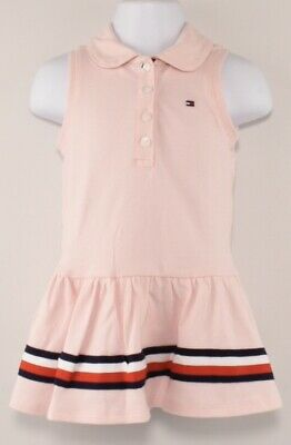 White White Yaf One Size:86 Tommy Hilfiger Baby Girl Polo Dress S//S Blouse